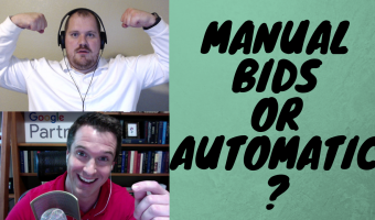 manual bids or automatic